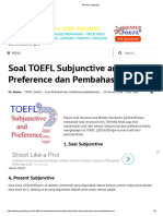 4. Subjunctive and Preference