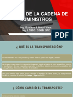 Sesión 12 Transporte y Tecnicas