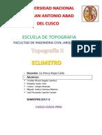 Escuela de Topografia Facultad de Ingenieria Civil