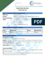 Glacial Acetic Acid MSDS