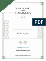 Claudio Ceccoli - El Ocaso - Habanera para Flauta en G & Piano - Piano Score & Parte.pdf