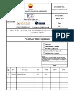 Acp Exa Icg Petro Qly Ps 006 Penetrant Test Procedure Rev.A