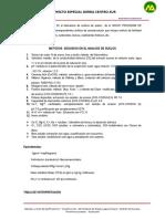 IV.- Estudio Edafologico de Las Calicatas TAXONOMIA