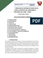 308055476 Estudio de Impacto Ambiental en Canal de Riego en El Sector Capilla Distrito de Carhuamayo Converted