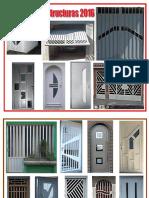Estructuea de Puertas 2016