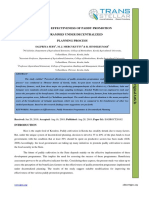 PERCEIVED EFFECTIVENESS OF PADDY PROMOTION PROGRAMMES UNDER DECENTRALIZED PLANNING PROCESS