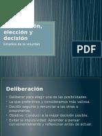 Cap. 13 - Deliberación, Elección y Decisión