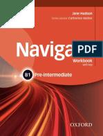 Hudson J - Oxford Navigate B1 Pre-Intermediate Workbook With Key - 2015