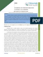 EVALUATION OF HARDNESS AND CORROSSION BEHAVIOUR OF Al 7075⁄TiB2 ⁄ Cr2O3 COMPOSITE
