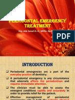 Periodontal Emergency Treatment Show