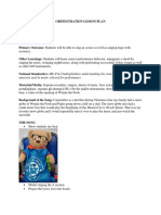 hundred acre woods lesson plan