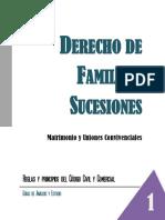 Familia y Sucesiones - 1 Matrimonio