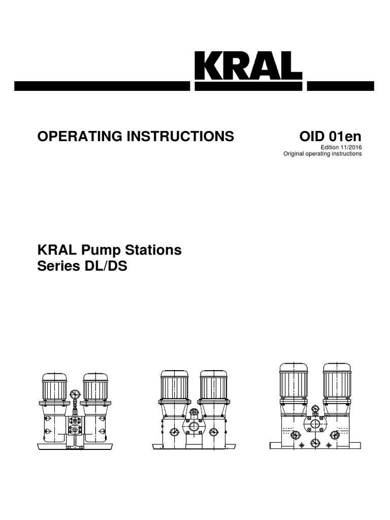 KRAL DS_DL OID 01en   Pump   Valve