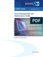 Asset Management and Maintenance Audits (Sample)
