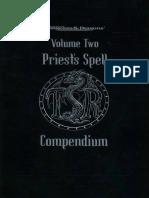Priest's Spell Compendium - Volume 1