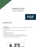 NORMA DE ARQUITECTURA  A 020 - A 030