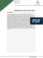 Gli studi di Raffaella Servadei tra i più citati al mondo - Il Metauro.it, 18 dicembre 2018