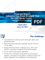Lovelock_Final CSAT 2017_Adhesive-Free Bond Strength Test Method for Cold Spray Coatings