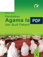 Buku Guru X PAI K13 Revisi
