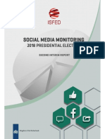 ISFED Social Media Monitoring for Presidential Elections - 2nd Interim Report