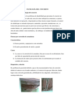 Patología Del Concreto
