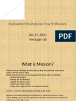 SPC Missions