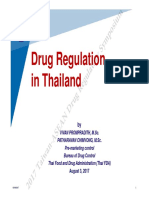 6. Drug Regulation in Thailand
