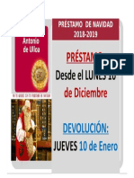 Préstamo especial de Navidad 2018