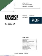 Fujitsu Air Conditioner Service Manual