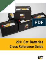 Cat Batteries CrossRef Guide