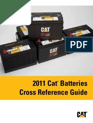 Cat Batteries CrossRef Guide | Battery (Electricity