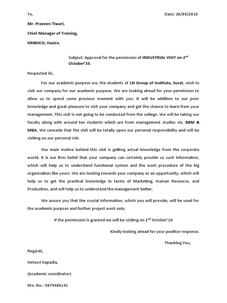 Permission letter format dolapgnetband permission letter format spiritdancerdesigns Choice Image