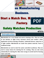 Matchbox Manufacturing Business