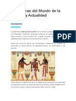 10 Culturas Del Mundo de La Historia y Actualidad