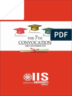 Convocation Book 2018