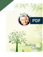 Johanna Budwig Guide Natural Therapies
