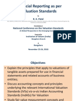 Valuation Standarads for Financial Reporting