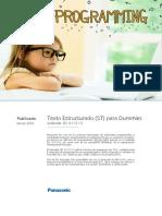 FPWINpro Programacion en ST