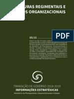 5 Estruturas Regimentais e Modelos Organizacionais