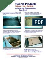 Oil-Water Separator Bio Remediation Case Study