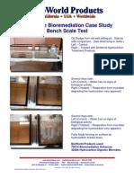Oil Sludge Bio Remediation Case Study - Bench Scale Test