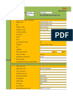 Aplikasi Penilaian Kinerja (PK) Guru Semua Golongan Dengan Microsoft Excel