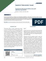 Immune Thrombocytopenia in Tuberculosis Causal