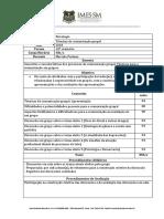 10o Semestre_Plano de Ensino_Técnicas de Comunicação Grupal