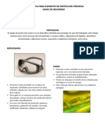 Ficha Tecnica proteccion ocular