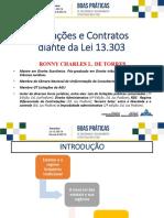 12 Licitações e Contratos diante da Lei 13.303 -  Ronny Charles Lopes de Torres (Advogado da União - AGU)