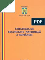 Strategia de Securitate Nationala a Romaniei
