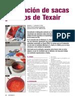 Reparacion de Sacas y Monos Con Texair 2013