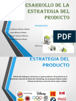 Estrategia del producto