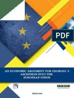 An Economic Argument for Georgia's Ascension into the European Union